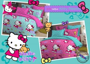 Sprei Hello Kitty Ribbon