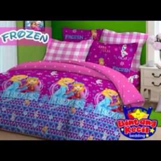 Sprei Frozen Pink