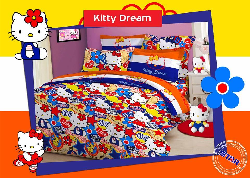 Sprei Kitty Dream