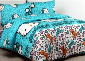Sprei Kitty Leopard Tosca
