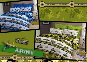 Sprei Star Army