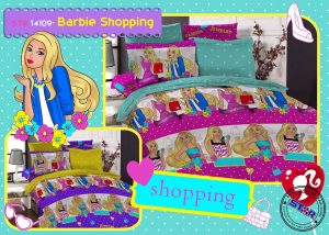 Sprei Star Barbie Shopping