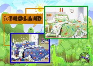 Sprei Star Dinoland