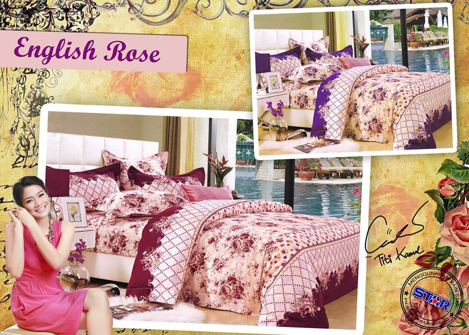 Sprei Star English Rose