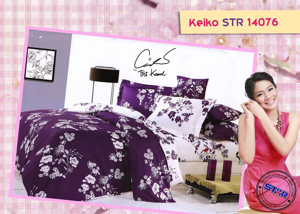 Sprei Star Keiko