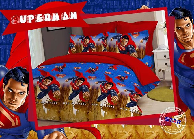 Sprei Star Superman