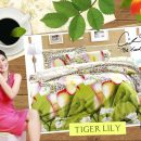 Sprei Star Tiger Lily