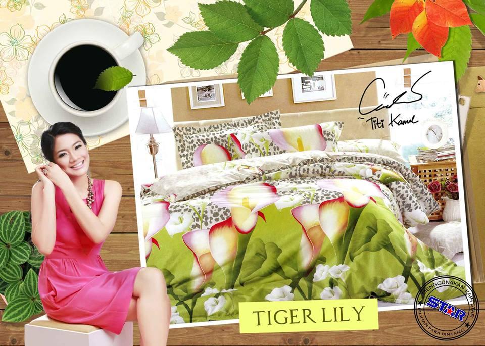 Sprei Star Tiger Lily