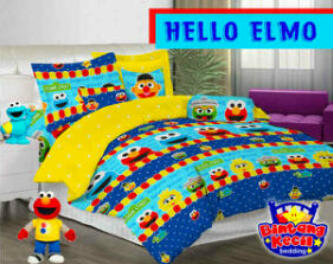 Sprei Hello Elmo