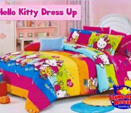 Sprei Hello Kitty Dress Up