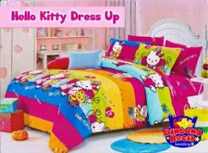 Sprei Hello Kitty Dress Up