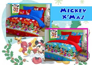Sprei Mickey X'mas