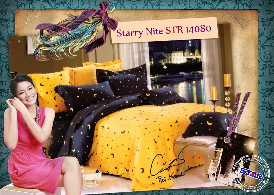 Sprei Star Starry Nite