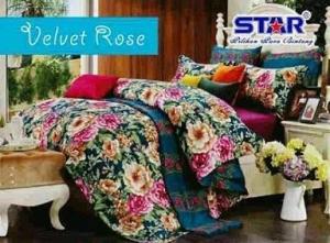 Sprei Star Velvet Rose