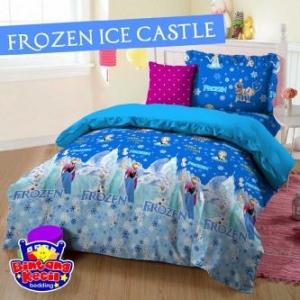 Sprei Frozen Ice Castle