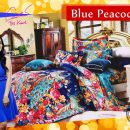 Sprei Star Blue Peacock