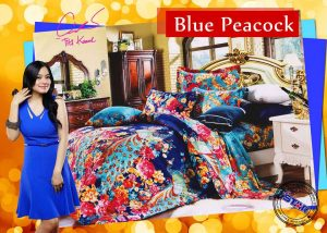 Sprei Star Blue Peacock
