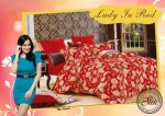 Sprei Star Lady In Red