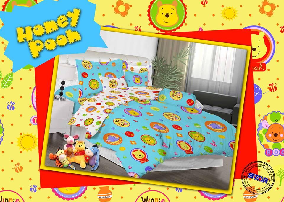 Sprei Honey Pooh