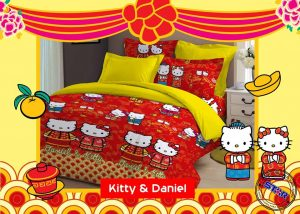 Sprei Kitty And Daniel