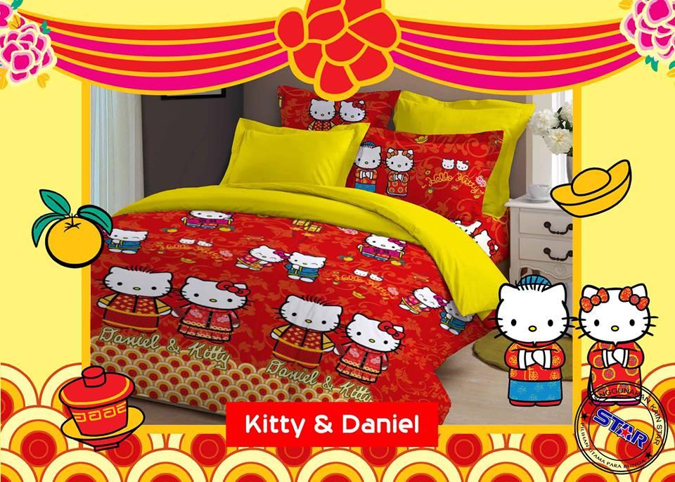 Sprei Kitty And Daniel