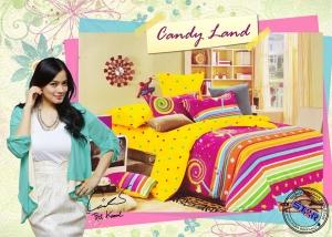 Sprei Star Candy Land