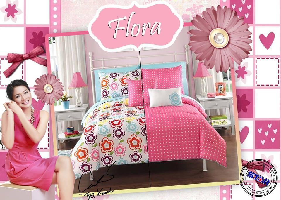 Sprei Star Flora