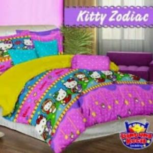 Sprei Star Kitty Zodiac