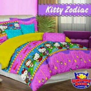 Sprei Star Kitty Zodiac