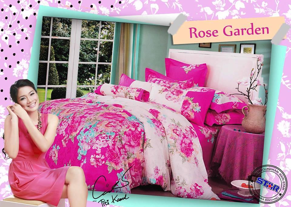 Sprei Star Rose Garden