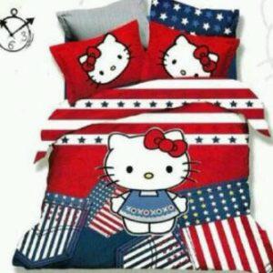 Sprei Hello Kitty Amerika