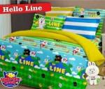 Sprei Hello Line