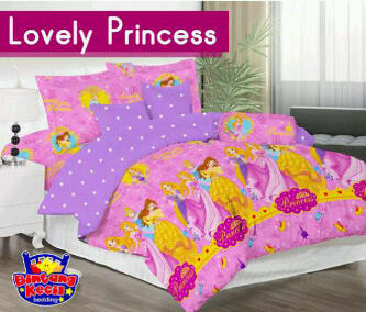 Sprei Lovely Princess