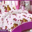 Sprei Masha & The Bear