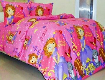 Sprei Sofia The First Pink