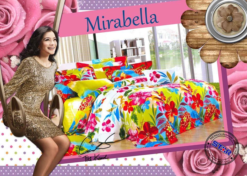 Sprei Star Mirabella