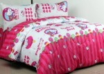 Sprei Kitty Candy Strawberry