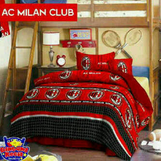 Sprei Star AC Milan Club