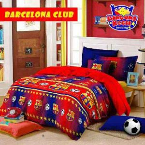 Sprei Bintang Kecil Barcelona Club