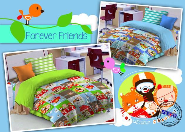 Sprei Bintang Kecil Forever Friends