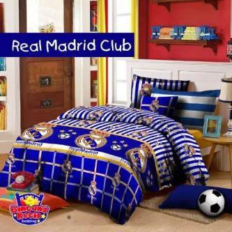 Sprei Bintang Kecil Real Madrid Club