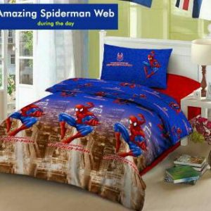 Sprei Star Amazing Spiderman Web