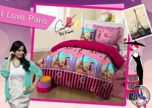 Sprei Star I Love Paris