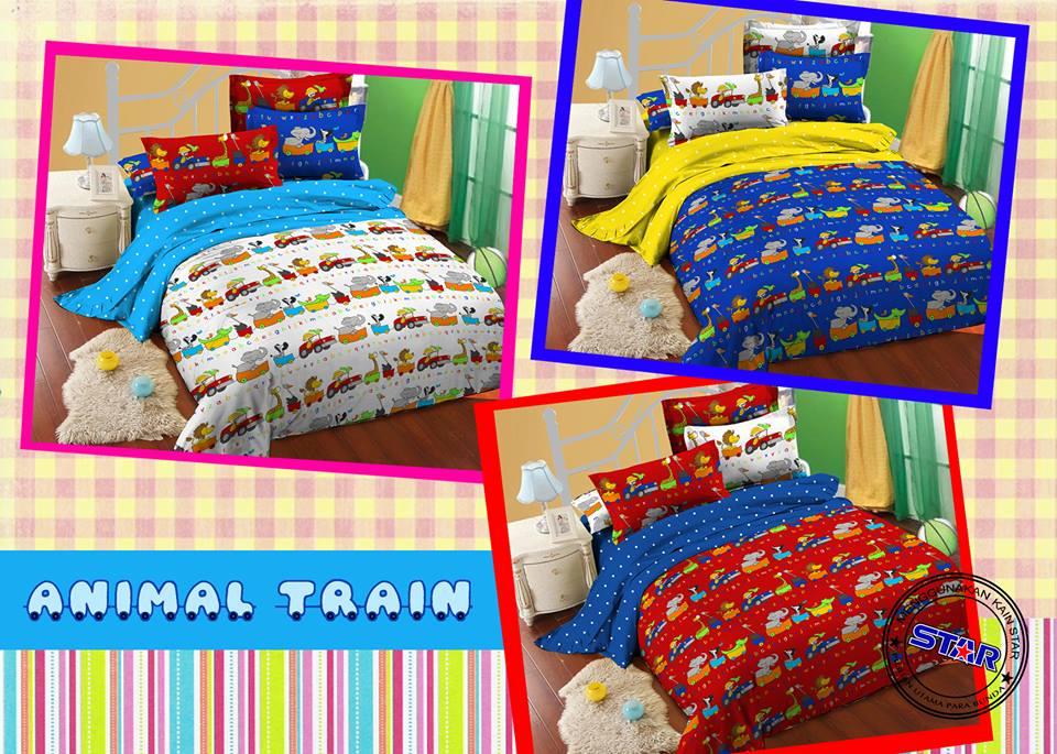 Sprei Animal Train
