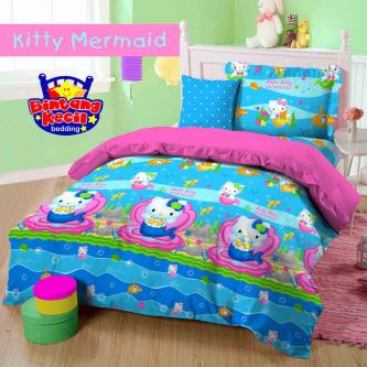 Sprei Bintang Kecil Kitty Mermaid