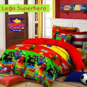 Sprei Bintang Kecil Lego Superhero