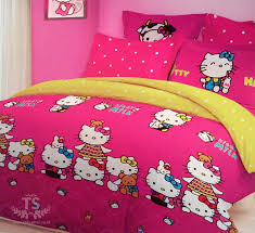 Sprei Hello Kitty Milk