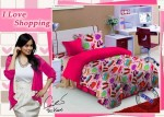 Sprei Star I Love Shopping