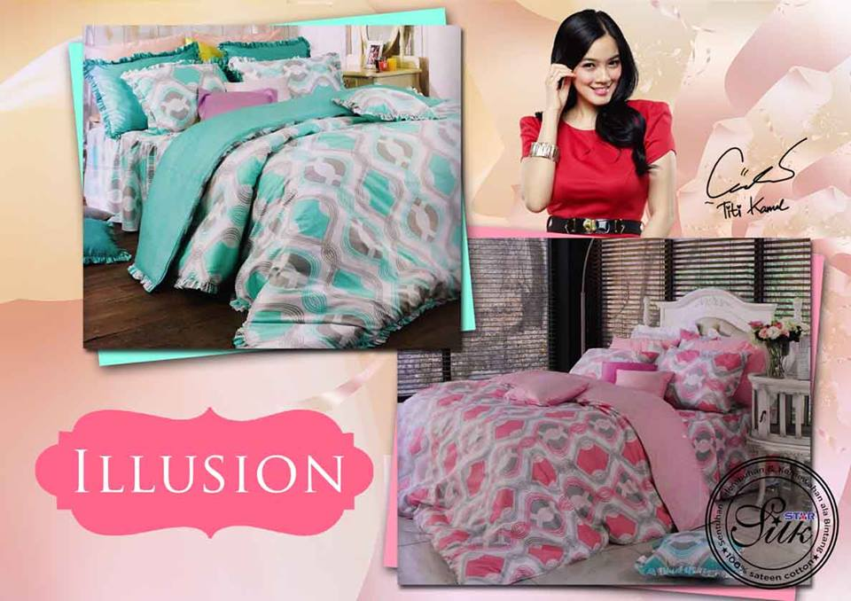 Sprei Star Illusion