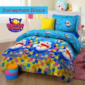 Sprei Doraemon Disco